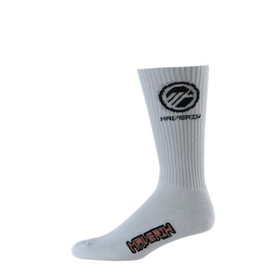 White (Maverik DNA Crew Socks)
