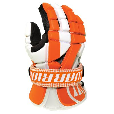 Orange *Glove Not Included (Warrior Riot Cuff [2 Pack] - Houndstooth)