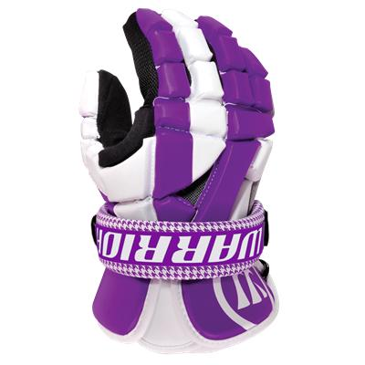Purple *Glove Not Included (Warrior Riot Cuff [2 Pack] - Houndstooth)