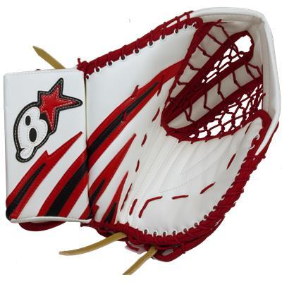 Brians Pro Stock Halak Quot Arch Graphic Quot Goalie Catch Glove