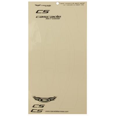 White (Cascade Helmet Sticker Set - CS)