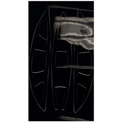 Black (Cascade Vent Helmet Decal - CPX-R)