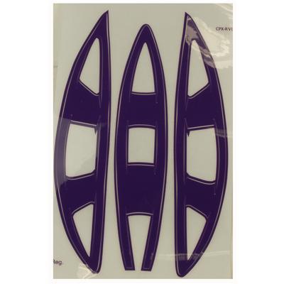 Purple (Cascade Vent Helmet Decal - CPX-R)