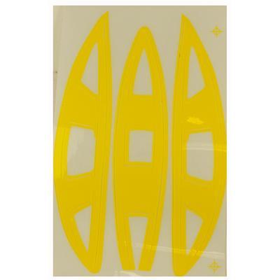 Yellow (Cascade Vent Helmet Decal - CPX-R)