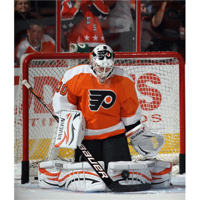 NHL Action Shot - Flyers (Edge Protech Goalie Skate Blade Protector)