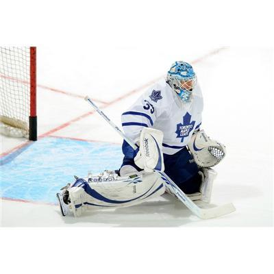 NHL Action Shot - Toronto (Edge Protech Goalie Skate Blade Protector)