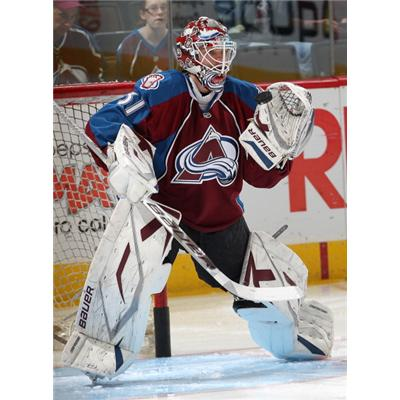 NHL Action Shot - COL (Edge Protech Goalie Skate Blade Protector)