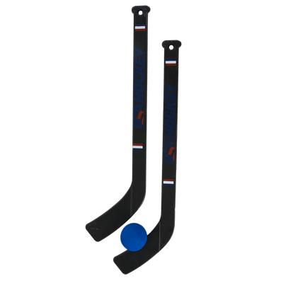 Two Included Player Sticks And Mini Ball (USA Hockey Pro Style Mini Hockey Set)