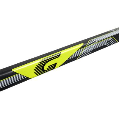 Graf Logo (Graf Ultra G75 Grip Composite Hockey Stick)