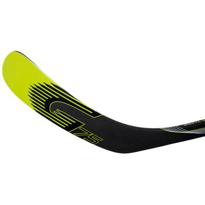 Backhand Blade Detail (Graf Ultra G75 Grip Composite Stick)