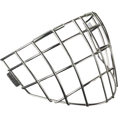 Quarter View (Vaughn 9500 Straight Bar Goalie Cage - Senior)