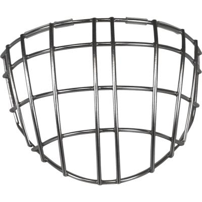 Front View (Vaughn 9500 Straight Bar Goalie Cage - Senior)