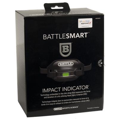 Package (Battle Sports Science Smart Impact Indicator)