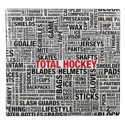 Front View (Total Hockey Wrapping Paper)
