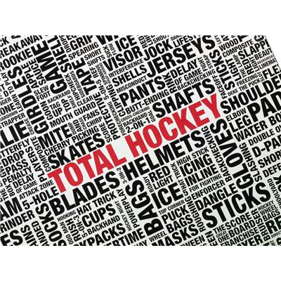 Classic Hockey Terms and Sayings (Total Hockey Wrapping Paper)