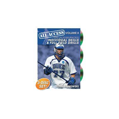 Duke Lacrosse Practice Volume 2 (All Access Duke Lacrosse Practice Volume 2: Individual skills and Full Field Drills)