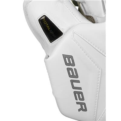 Great Design Gives Confidence On The Ice (Bauer Supreme TotalOne Goalie Blocker)
