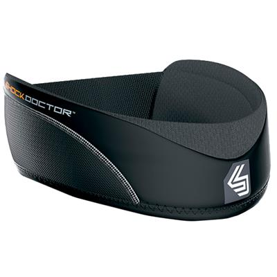 Black (Shock Doctor Ultra Hockey Neck Guard - Youth)