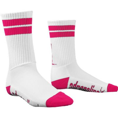 White/Pink (Adrenaline J Train Socks)