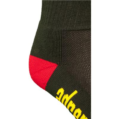 Reinforced Heel (Adrenaline Rasta Socks)