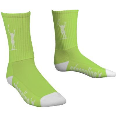 Lime/White (Adrenaline Carlsons Socks)