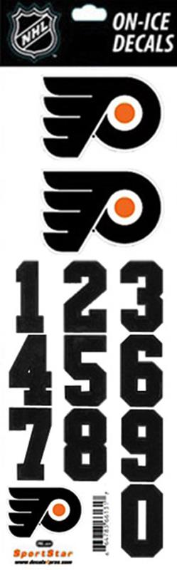 Philadelphia flyers nhl hockey helmet decals