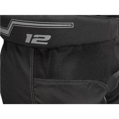 Mesh Gussets Provide Mobility And Breathability (CCM U+12 Player Pants)