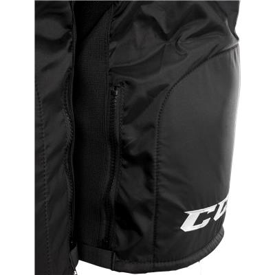 Leg Zippers Make Life Easier (CCM U+12 Player Pants)