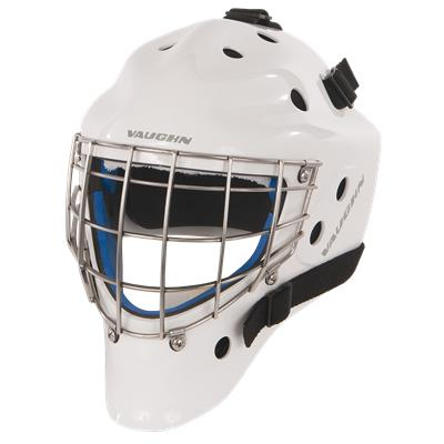 White (Vaughn 7700 Junior Goalie Mask - Junior)