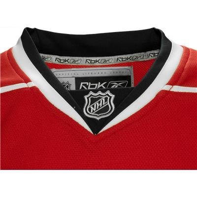 Collar (Reebok Carolina Hurricanes Premier Jersey)