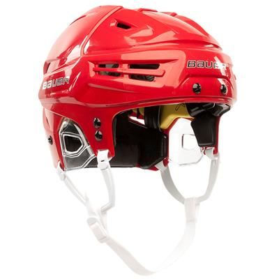 Red (Bauer Re-AKT Helmet)