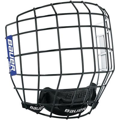 Black/White (Bauer RBE III Facemask)