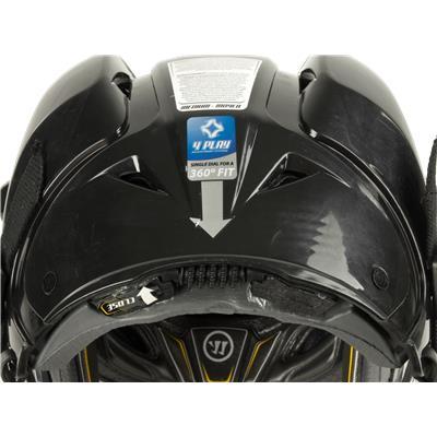 Single Dial Size Adjustment (Warrior Krown 360 Helmet Combo)