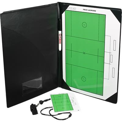 Field Lacrosse Dry Erase Included (Fox 40 Pro Coaching Lacrosse Folder Kit)