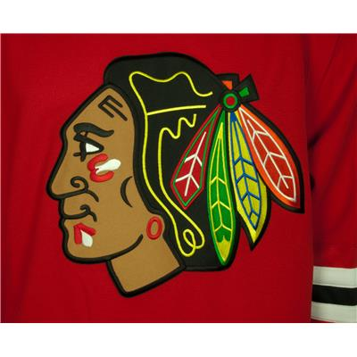 Center Logo (Reebok Chicago Blackhawks Premier Jersey)