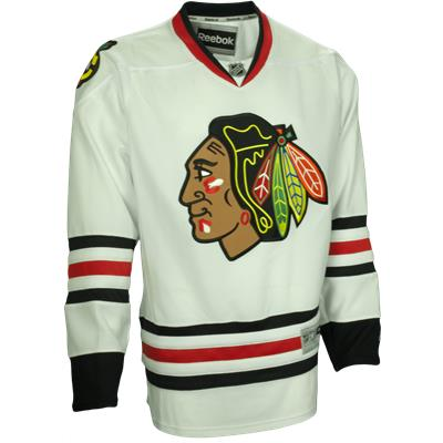 Away/White (Reebok Chicago Blackhawks Premier Jersey)