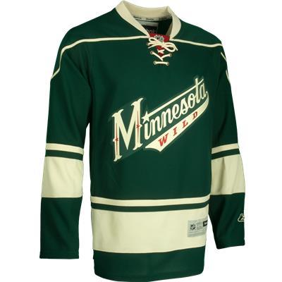 Third (Reebok Minnesota Wild Premier Jersey)