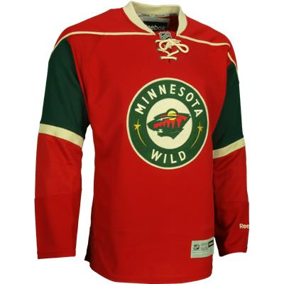 Home Dark (Reebok Minnesota Wild Authentic Jersey - Mens) 7d11c1acb38
