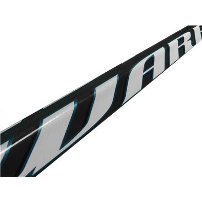 Middle Shaft View (Warrior Widow Grip Composite Stick)