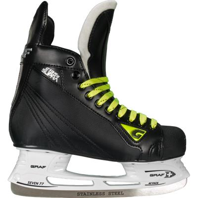 Molded Nylite Quarter Panels Keep You Protected (Graf Supra 135S Ice Skates)