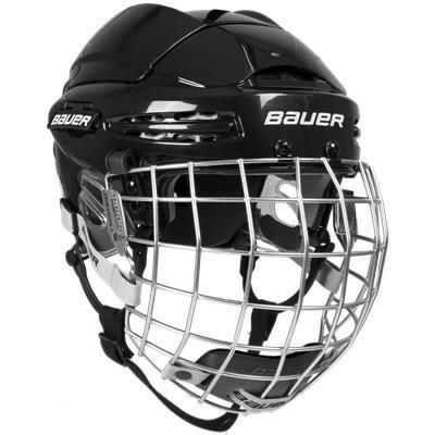 Black (Bauer 5100 Helmet Combo)
