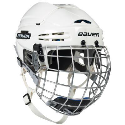 White (Bauer 5100 Helmet Combo)