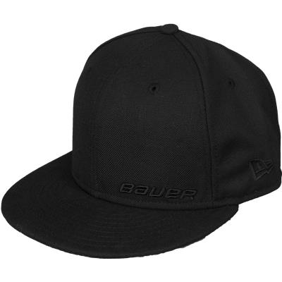 Black (Bauer 59FIFTY Fitted Hat - Adult)