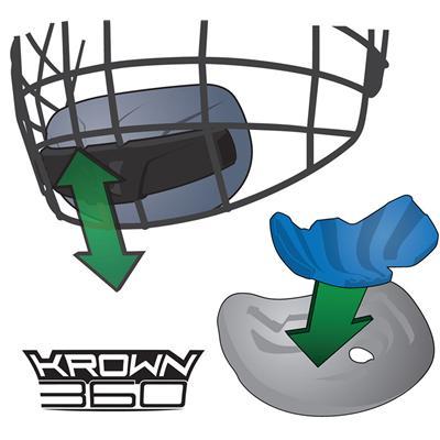 Krown 360 Chin Cup (Warrior Krown 360 Helmet Combo)