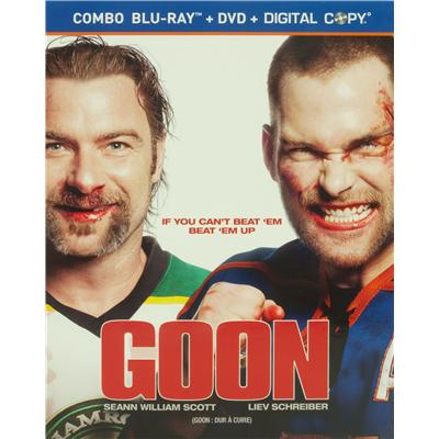 Goon Blue Ray Edition Movie (Goon Blu-Ray)