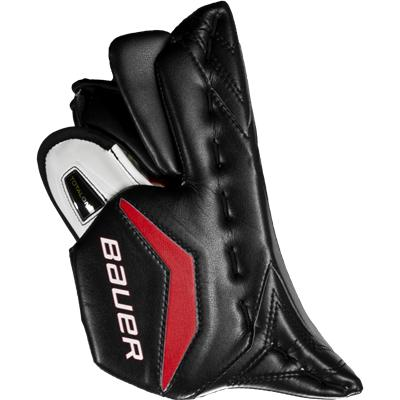 Maximum Coverage Side Hand Protection (Bauer Supreme TotalOne Goalie Blocker)