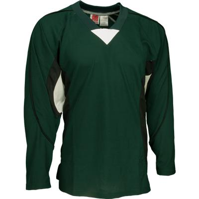 Green/Black/White (FlexxIce LITE 14100 Practice Jersey - Junior)