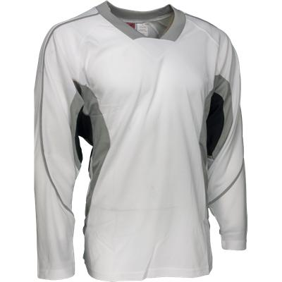 White/Grey/Black (FlexxIce LITE 14100 Practice Jersey - Junior)