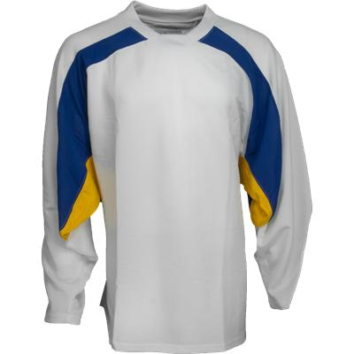 White/Navy/Gold (FlexxIce LITE 17100 Practice Jersey - Senior)