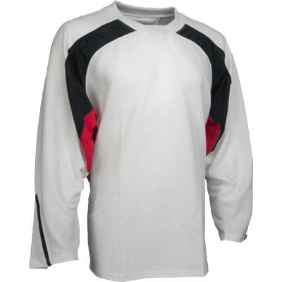 White/Black/Red (FlexxIce LITE 17100 Practice Jersey)